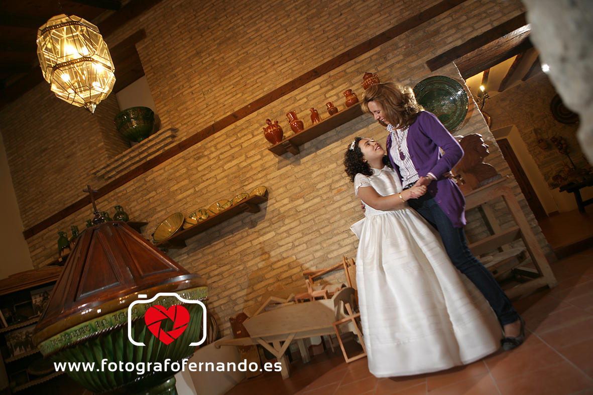 FOTOGRAFO FERNANDO COMUNION