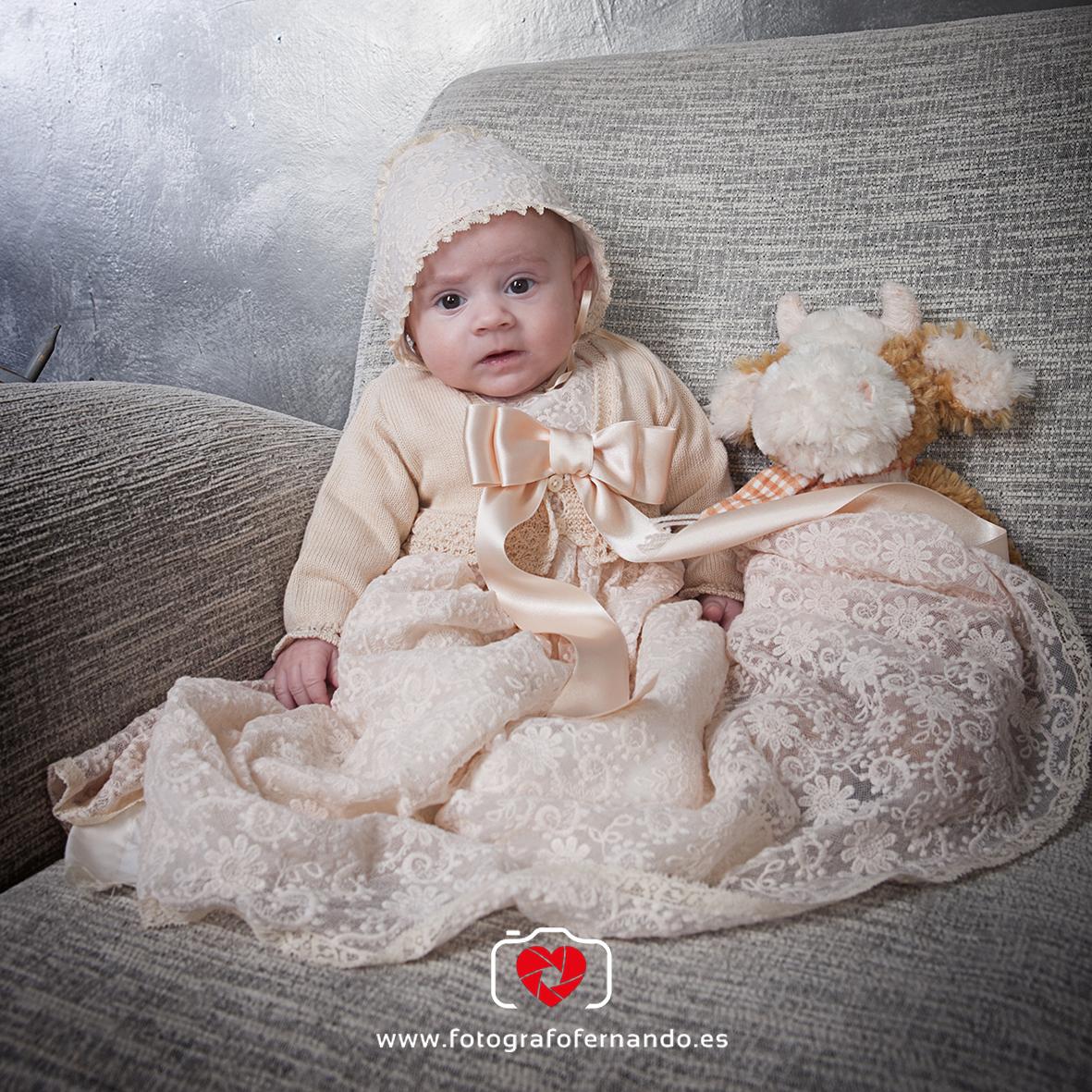 fotografias bautizo bebé