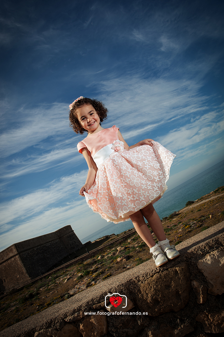 fotógrafo niños almeria el ejido