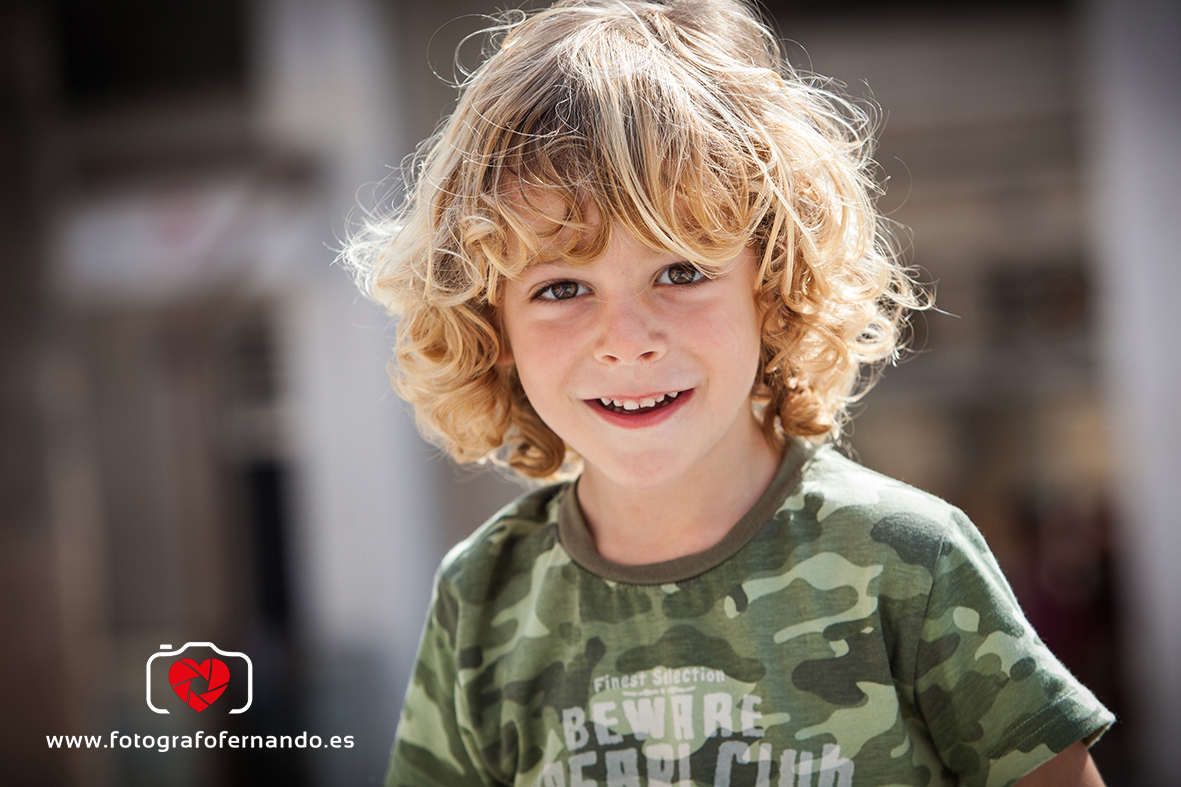 fotógrafos niños el ejido almeria