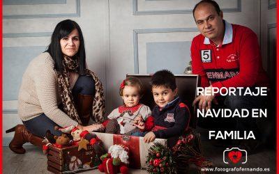 Reportaje de Navidad en familia en El Ejido