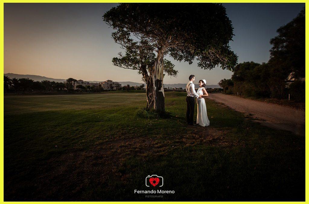 boda campo de golf