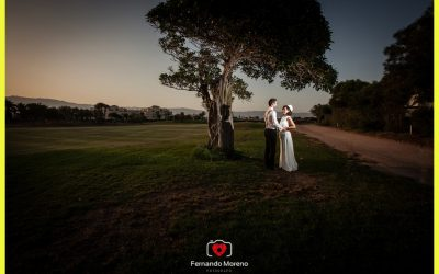 Reportaje de Post Boda en Club de Golf Playa Serena