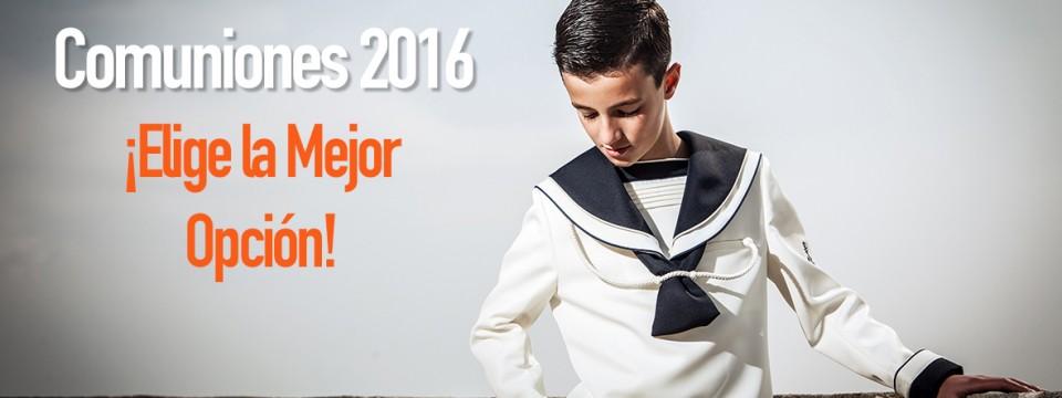 PRECIOS COMUNIONES 2016