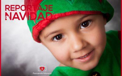 Fotografías de Navidad Reportajes en Familia
