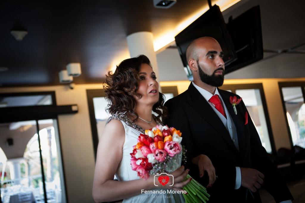boda en hotel golf almerimar