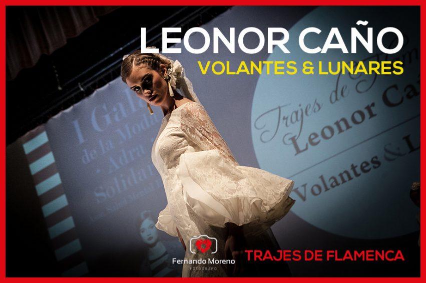 trajes de flamenca leonor caño