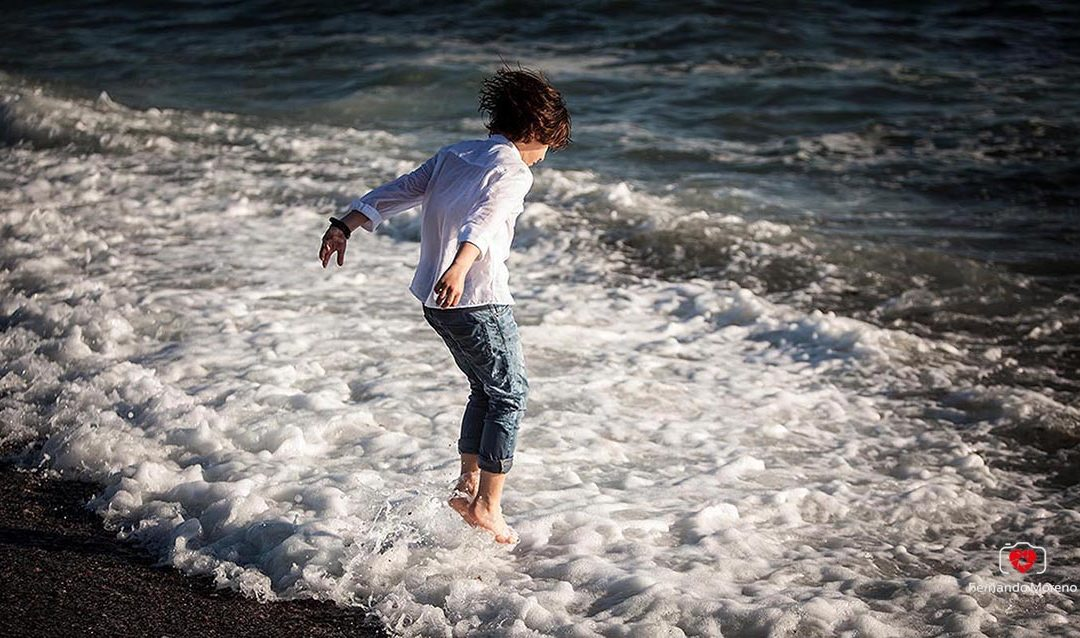 fotos comunion playa