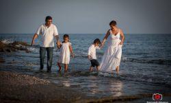 Reportaje de Familia en la Playa de Guardias Viejas