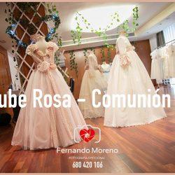 Los mejores vestidos comunion en Almería. Entrevista a Nube rosa