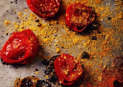 fotografias de tomates creativas